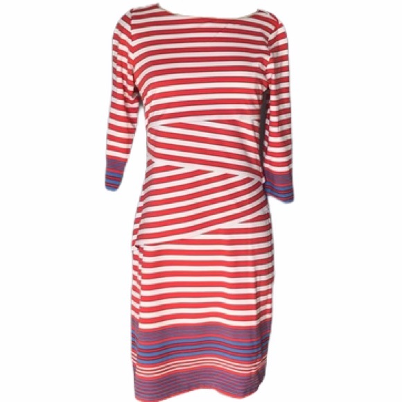 J. McLaughlin Nicola Dress, Bangle Stripes, Small